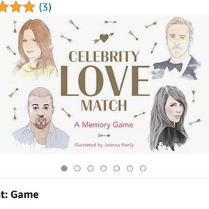 Celebrity Love Match Game, NWT!